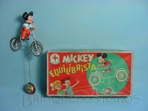 1. Brinquedos antigos - Estrela - Mickey Equilibrista Walt Disney Década de 1960