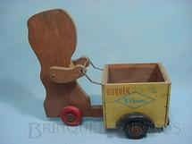 1. Brinquedos antigos - Estrela - Carrinho Sorvex Kibon Década de 1950 Falta o papel que revestia a figura