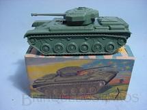 1. Brinquedos antigos - Estrela - Tanque de Guerra com faisca Ano 1968