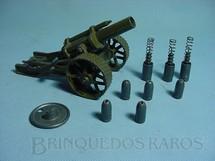 1. Brinquedos antigos - Britains - Obus 18 Howitzer canhão completo Atira Balas de metal Carrega pela culatra Década de 1950