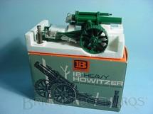 1. Brinquedos antigos - Britains - Obus 18 Howitzer canhão completo Atira Balas de metal Carrega pela culatra Década de 1960