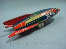 1. Brinquedos antigos - Bell - Foguete Meteor com 19,00 cm de comprimento