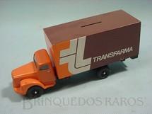 1. Brinquedos antigos - Juê - Scania Vabis L111 Furgão Transfarma