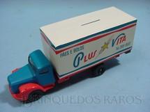 1. Brinquedos antigos - Juê - Scania Vabis L111 Furgão Plus Vita