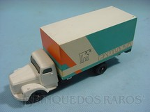 1. Brinquedos antigos - Juê - Scania Vabis L111 Furgão Leite Paulista