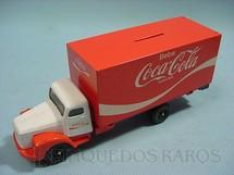 1. Brinquedos antigos - Juê - Scania Vabis L111 Furgão Coca Cola
