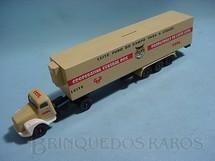 1. Brinquedos antigos - Juê - Conj. Cavalo Mecanico Scania Vabis L111 com carreta  CCPL