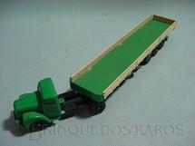 1. Brinquedos antigos - Juê - Conj. Cavalo Mecanico Scania Vabis L111 com carreta Coca Cola