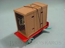1. Brinquedos antigos - Corgi Toys - Circo Chipperfields Elephant Cage, completo. Década de 1960