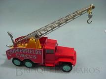 1. Brinquedos antigos - Corgi Toys - Circo Chipperfields Crane Truck Década de 1960