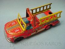 1. Brinquedos antigos - A.T.C. - Caminhão com escadas e uma figura 10,00 cm de comprimento Década de 1960
