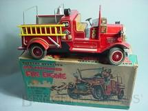 1. Brinquedos antigos - S.H. - Caminhão de Bombeiro Old Fashioned Fire Engine
