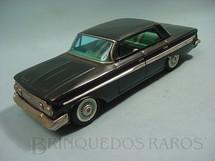 1. Brinquedos antigos - Bandai - Chevrolet Impala 1962 com 28,00 cm de comprimento Década de 1960