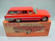 1. Brinquedos antigos - Metalma - Ford Fairlaine Station Wagon com 27,00 cm de comprimento Década de 1960