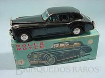 1. Brinquedos antigos - Yonezawa - Rolls Royce Silver Cloud Saloon com 22,00 cm de comprimento Década de 1960
