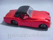 1. Brinquedos antigos - Bandai - Triumph TR3 com 20,00 cm de comprimento Década de 1970