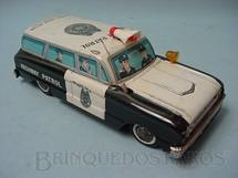 1. Brinquedos antigos - Alps - Perua Highway Patrol Motor com duas velocidades Década de 1960