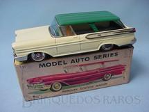 1. Brinquedos antigos - Bandai - Perua Mercury Station Wagon com 21,00 cm de comprimento Década de 1960