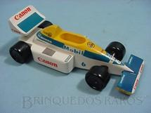 1. Brinquedos antigos - Sem identificação - Willians com 17,00 cm de comprimento piloto Nelson Piquet
