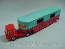 1. Brinquedos antigos - Corgi Toys - Circo Chipperfields Horse Van Década de 1960
