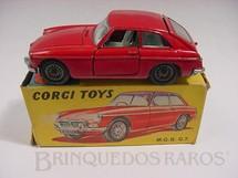 1. Brinquedos antigos - Corgi Toys - MGB GT Década de 1970