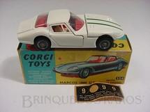 1. Brinquedos antigos - Corgi Toys - Marcos 1800 GT Volvo Engine