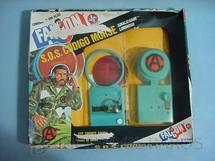1. Brinquedos antigos - Estrela - Falcon Aventura S.O.S. Código Morse sinalizador luminoso