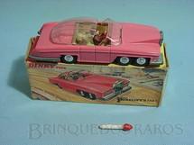 1. Brinquedos antigos - Dinky Toys - Veículo Thunderbirds Lady Penelope FAB 1 completo Década de 1960