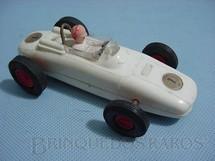 1. Brinquedos antigos - Stabo - Porsche Fórmula 1 branco Década de 1960