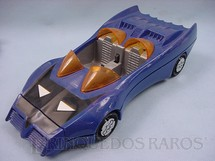 1. Brinquedos antigos - Estrela - Carro do Batman Batmobile Batmóvel Azul Coleção Super Powers Década de 1980