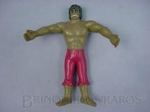 1. Brinquedos antigos - Sem identificação - Incrivel Hulk, com 15,00 cm de comprimento
