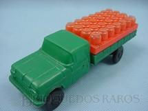 1. Brinquedos antigos - Mimo - Caminhão Ford com Botijões de gas Mimo Gas 20,00 cm de comprimento Década de 1970