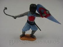 1. Brinquedos antigos - Timpo Toys - Guerreiro Medieval com  bola de aço e escudo