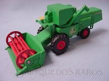 1. Brinquedos antigos - Matchbox - Colheitadeira Claas Combine Harvester King Size