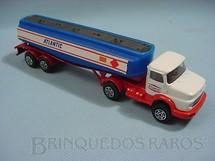 1. Brinquedos antigos - Corgi Toys-Kiko - Mercedes Benz Tanker Atlantic Brazilian Corgi Jr Kiko Década de 1980