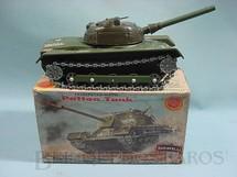 1. Brinquedos antigos - Asahi - Tanque de Guerra Patton Tank