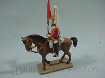 1. Brinquedos antigos - Hobbylandia - Guarda Real Inglês a cavalo com estandarte