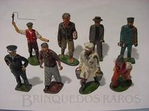 1. Brinquedos antigos - Sem identificação - Figuras para trem elétrico Década de 1950