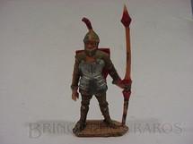 1. Brinquedos antigos - Marx - Guerreiro Medieval com escudo e lança