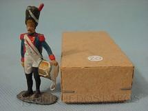 1. Brinquedos antigos - Mauro - Soldado do Exercito de Napoleão com tambor Década de 1970