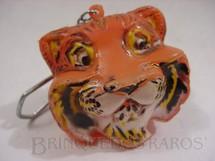 1. Brinquedos antigos - Sem identificação - Chaveiro da Cabeça do Tigre da Esso