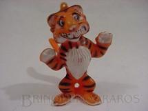 1. Brinquedos antigos - Sem identificação - Tigre da Esso com 8 cm de altura