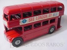 1. Brinquedos antigos - Lone Star - Onibus de dois andares Double Decker Bus Década de 1960