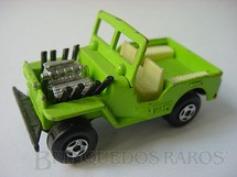 1. Brinquedos antigos - Matchbox - Inbrima - Jeep Willys Hot Rod Superfast Brazilian Matchbox Inbrima verde