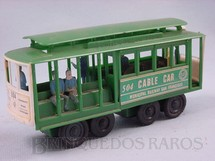 1. Brinquedos antigos - Sem identificação - Bonde San Francisco Cable Car com figuras Década de 1970