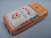 1. Brinquedos antigos - Metalma - Perua Flores com 5,00 cm de comprimento Década de 1970