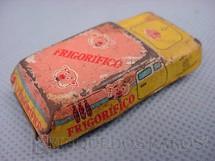 1. Brinquedos antigos - Metalma - Perua Frigorifico com 5,00 cm de comprimento