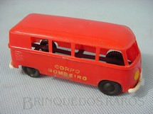 1. Brinquedos antigos - Piloto - Volkswagen Kombi Corpo de Bombeiros