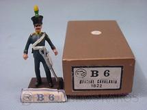 1. Brinquedos antigos - M.T. - Oficial Imperial do Décimo Segundo Regimento de Cavalaria de 1822 Independência do Brasil