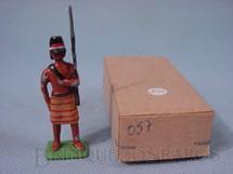 1. Brinquedos antigos - Mauro - Soldado de Artilharia Paraguaia, Guerra do Paraguai, 1865
